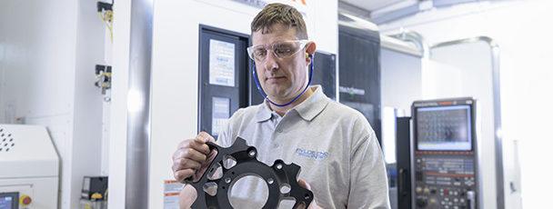 Fylde CNC expands into production of complex parts < Case Studies