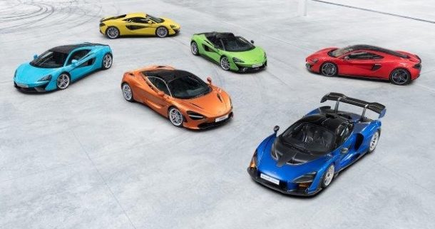 04 McLaren range
